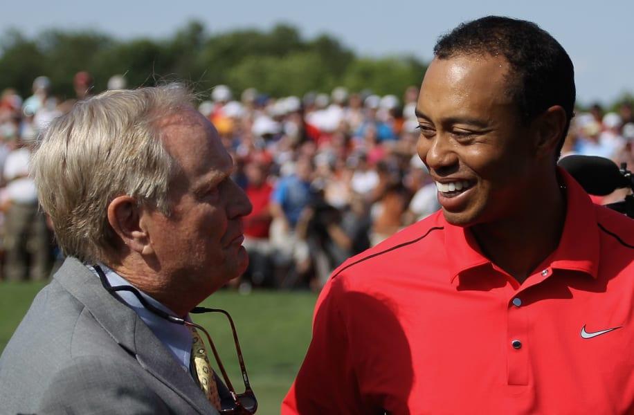 Jack Nicklaus Tiger Woods Memorial Tournament 2012