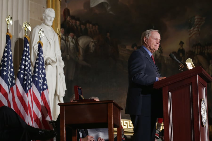 Jack Nicklaus Congressional Gold Medal