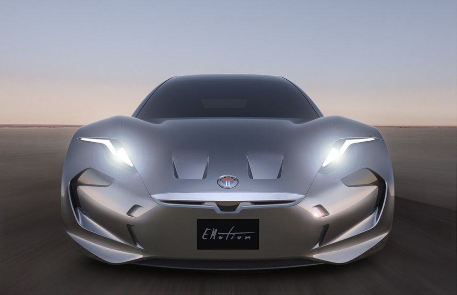 fisker emotion front view