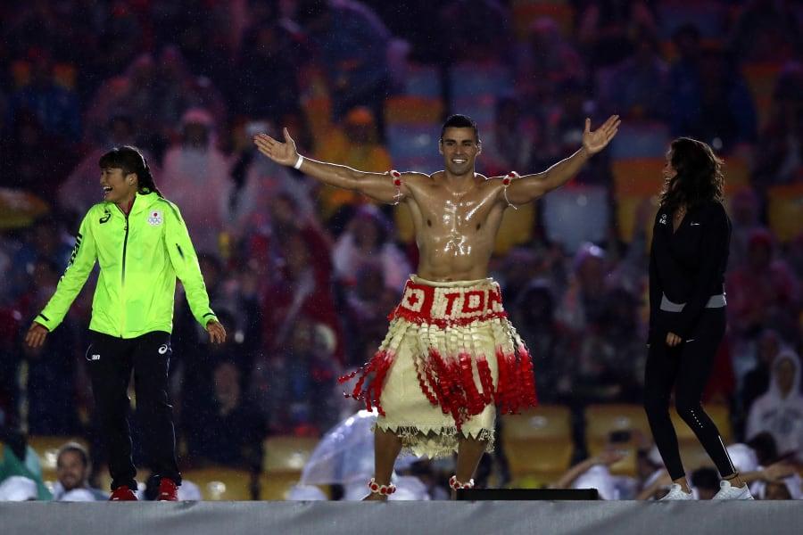 pita taufatofua closing ceremony