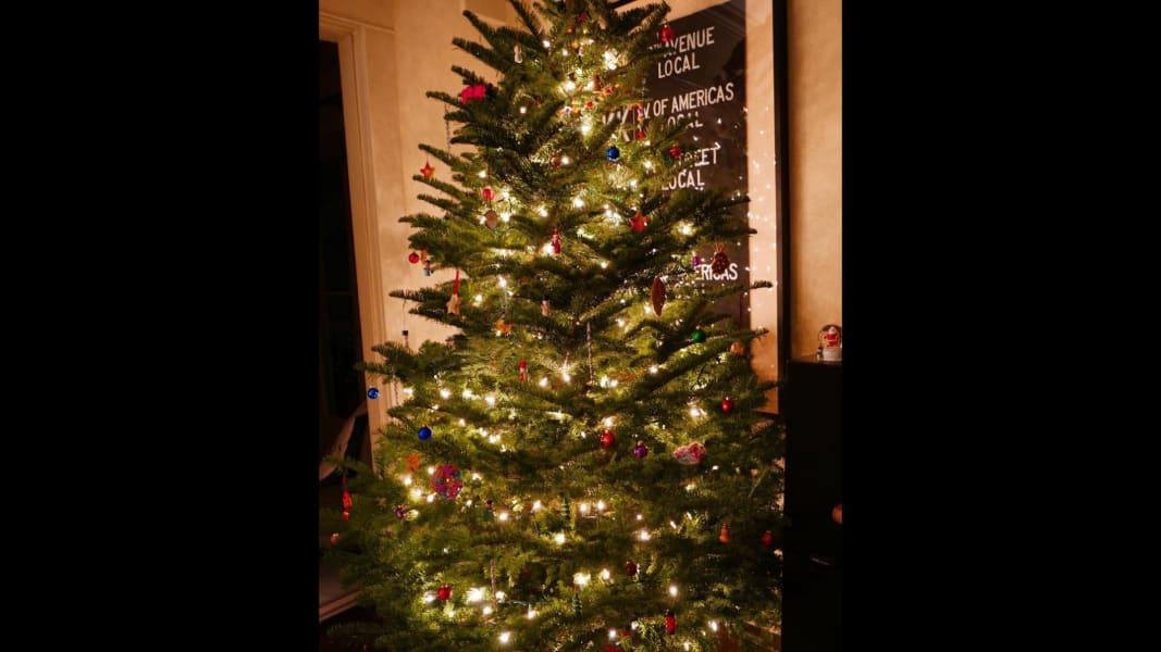 Amanda Seyfried christmas tree