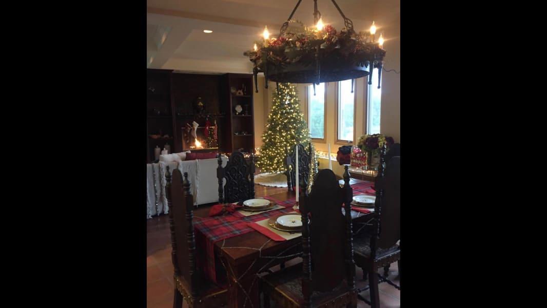 vanessa hudgens christmas tree