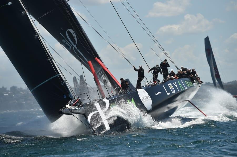 perpetual loyal start sydney hobart race