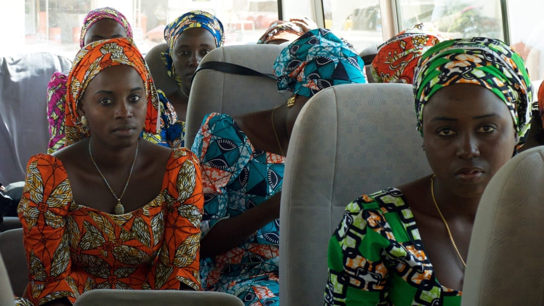 03 chibok girls return