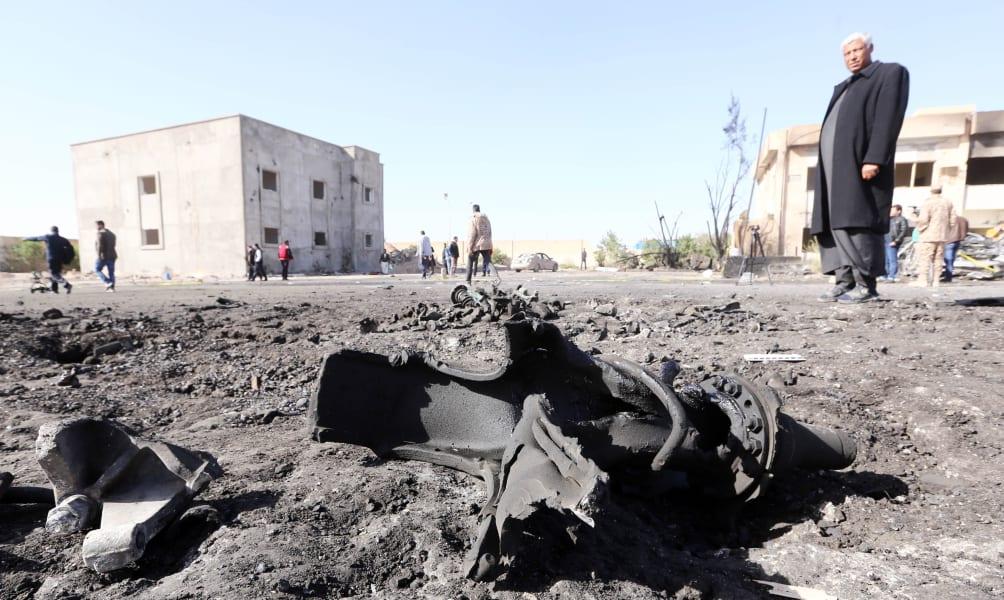 libya truck bombing