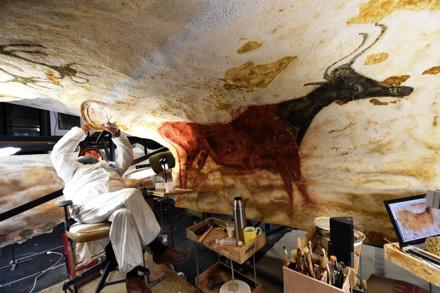 cave paintning auroch