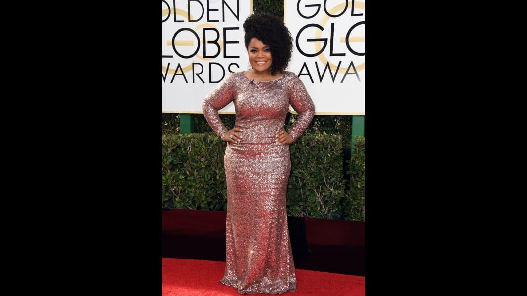 golden globes 2017 - Yvette Nicole Brown