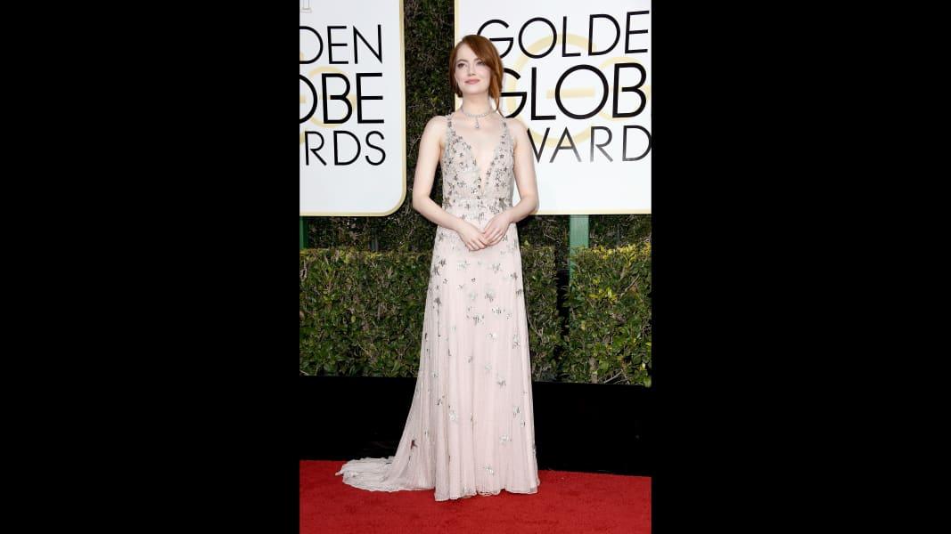 golden globes 2017 - Emma Stone