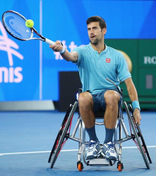 djokovic wheelchair tennis