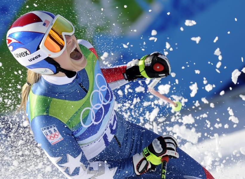 Lindsey Vonn Vancouver gold