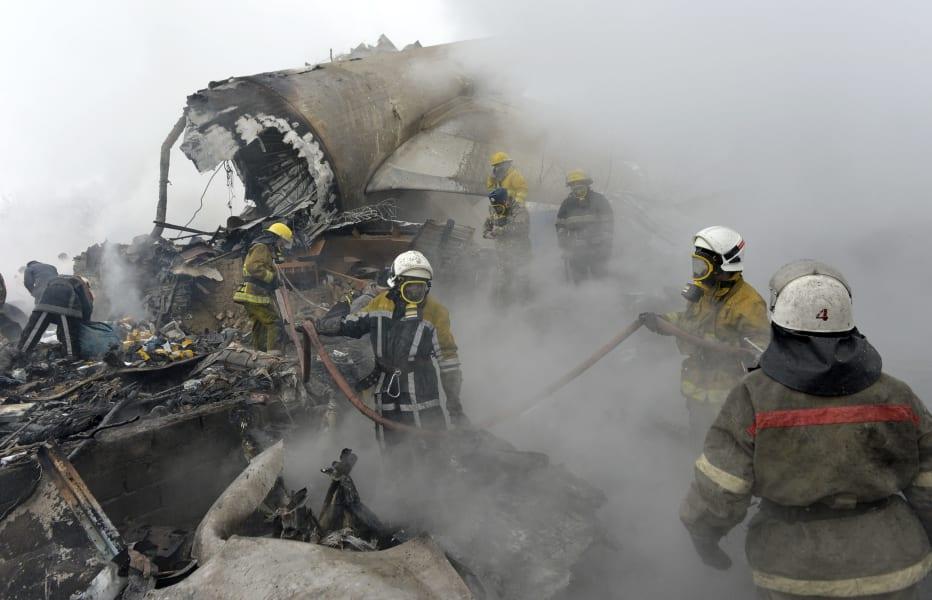 11 Kyrgystan plane crash 0116