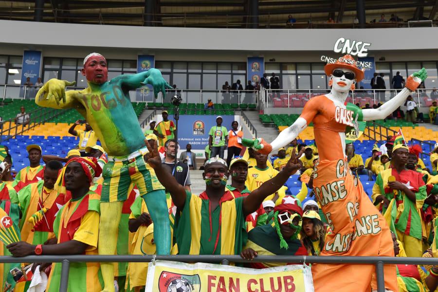 AFCON togo ivory coast fans