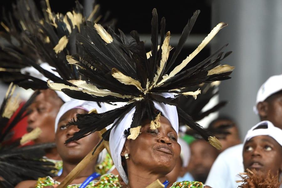 Congo supporter AFCON