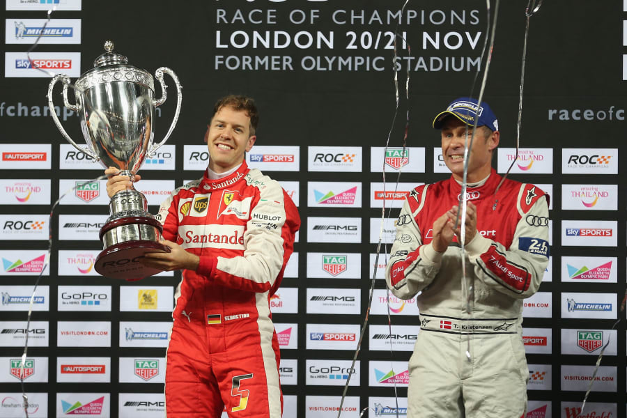 ROC Sebastian Vettel London 2012