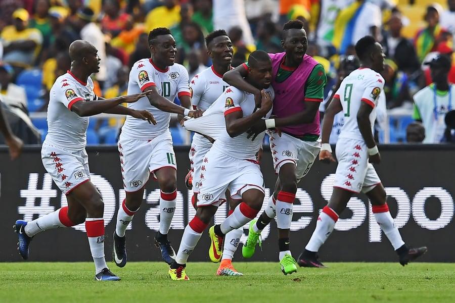 Prejuce Nakoulma Burkina Faso AFCON