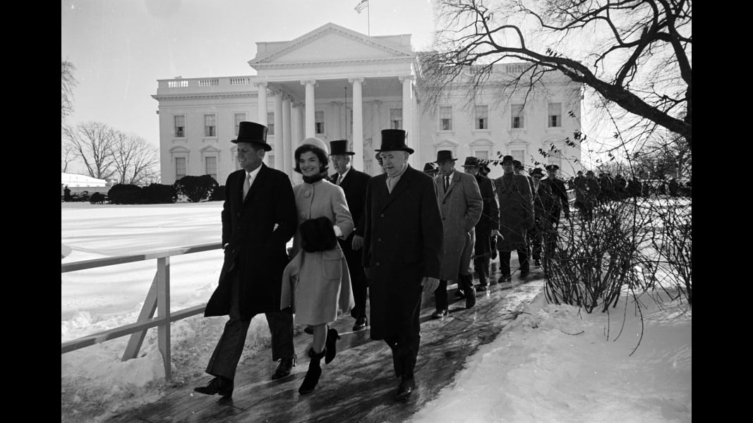 01 tbt John F. Kennedy inauguration RESTRICTED