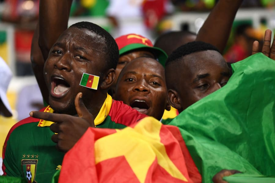 Cameroon fans Africa Cup of nations AFCON