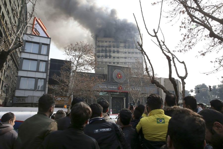 01 Tehran Iran Plasco building fire 0119