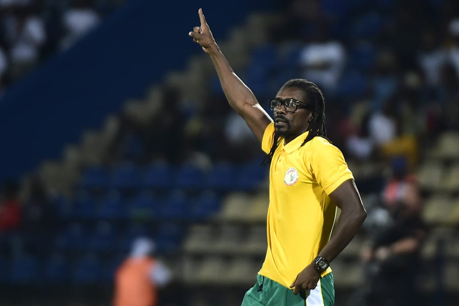 Senegal's coach Aliou Cisse afcon