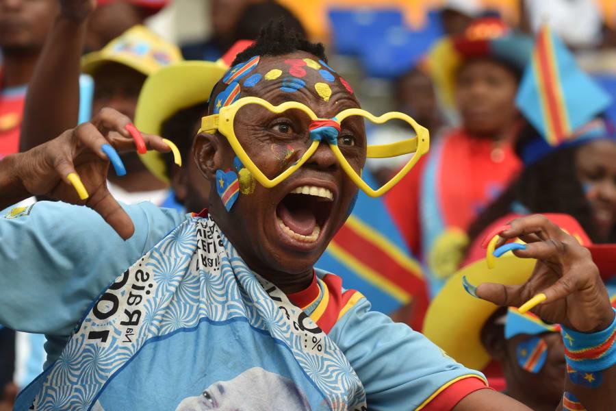 Congo fan AFCON