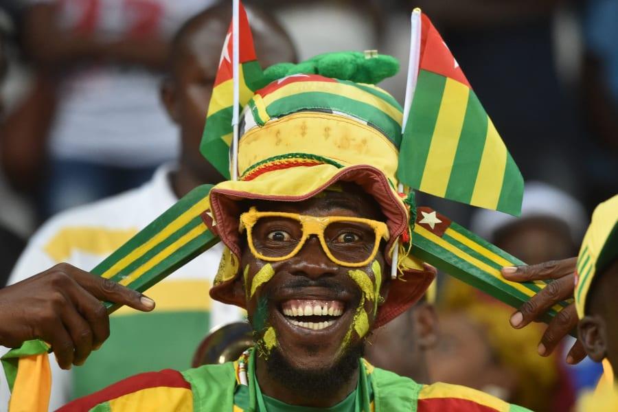 Togo fan AFCON