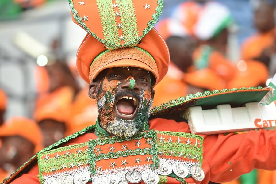 Ivory Coast fan AFCON