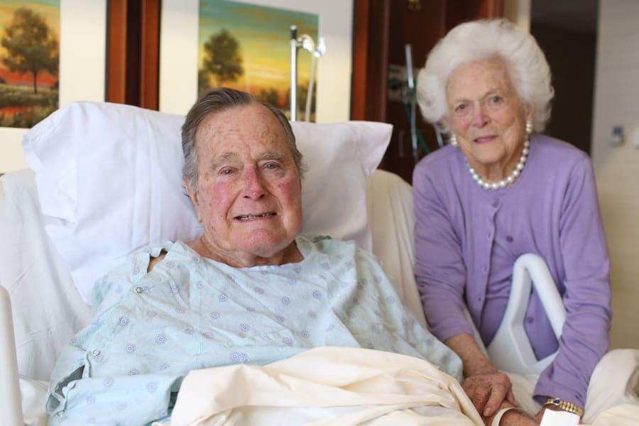 george h w bush barbara hospital McGrath
