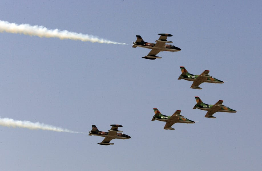 zambia army planes