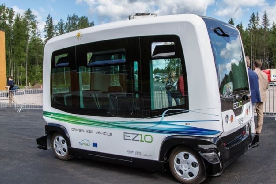 New Orleans residents get a chance to test driverless shuttle