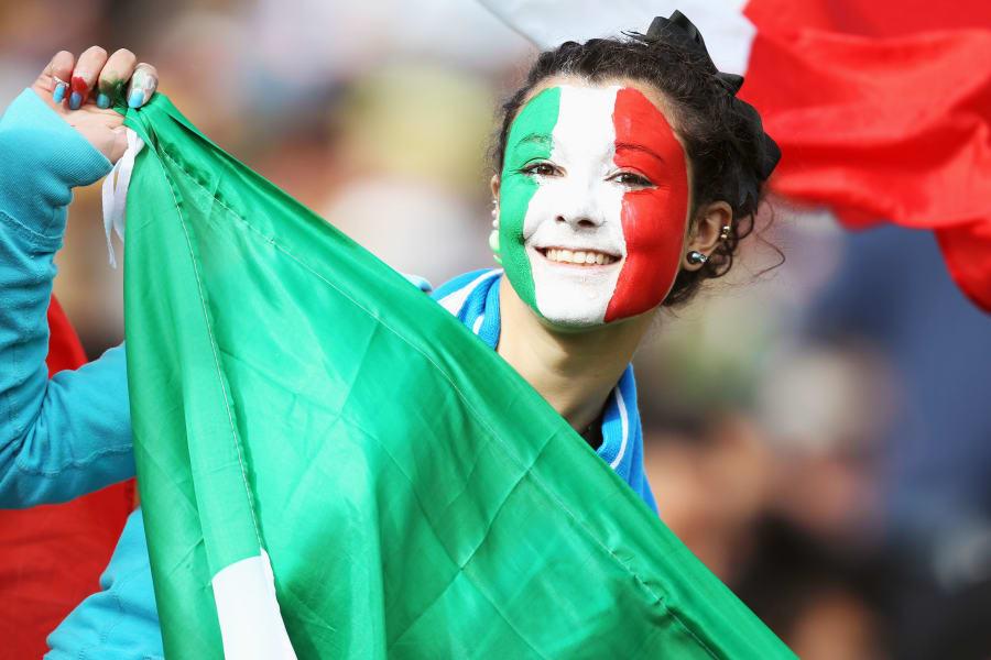 italy fan six nations