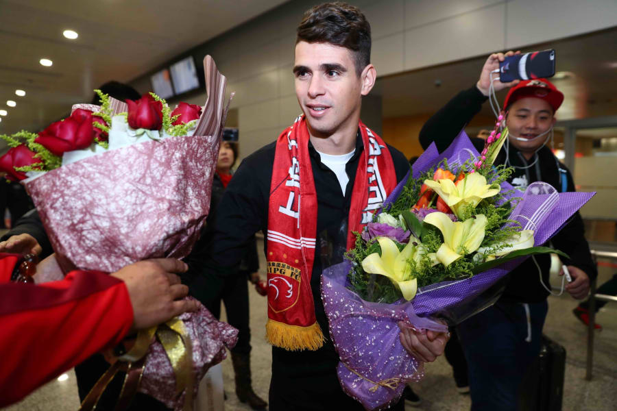 Oscar january transfer window