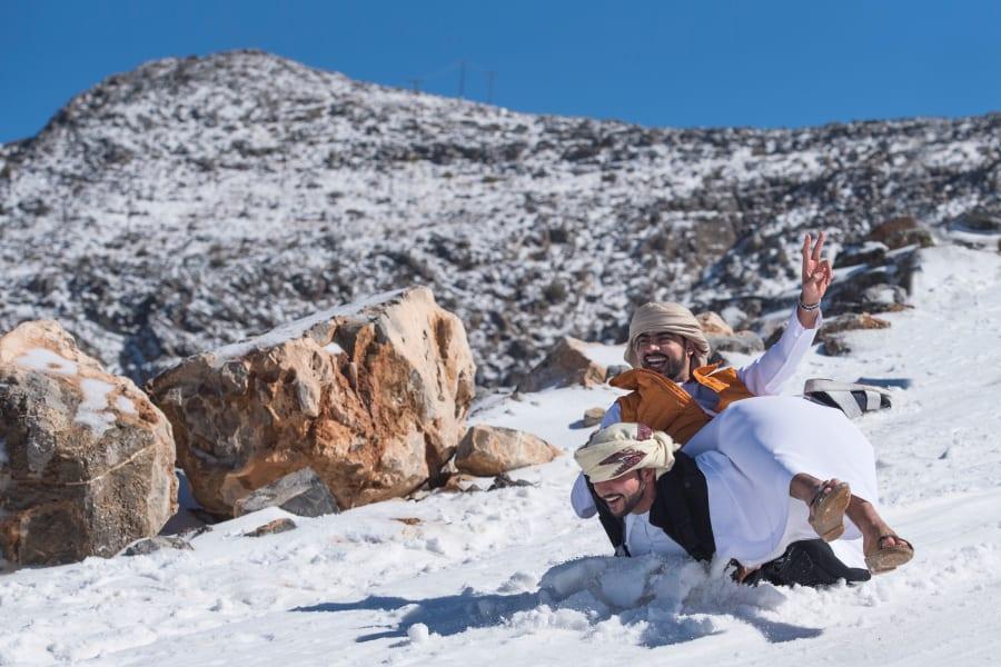 UAE-snow-1