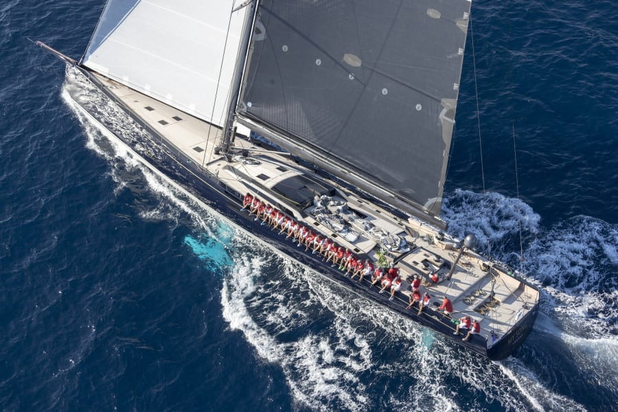 Best exterior design and styling sailing yacht