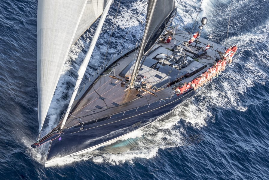 Most innovative sailing yacht  Boat International Media's ShowBoats Design Awards 2017
