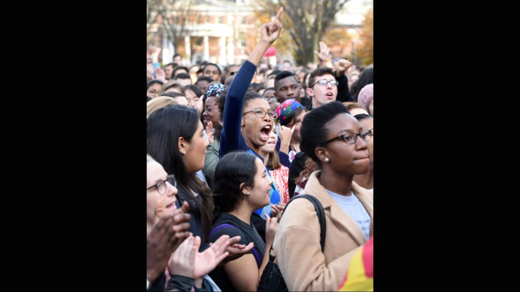 12 college campus protests