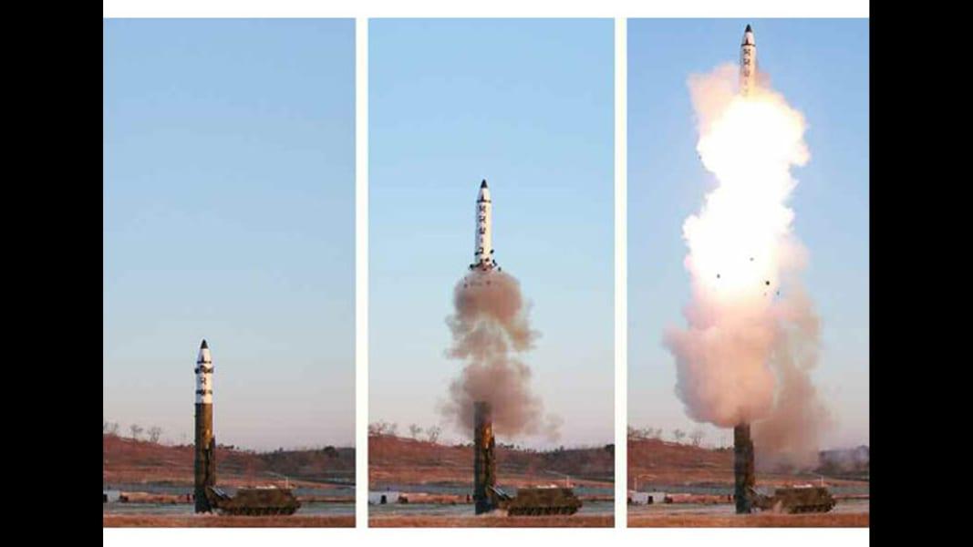 02 North Korea missile launch