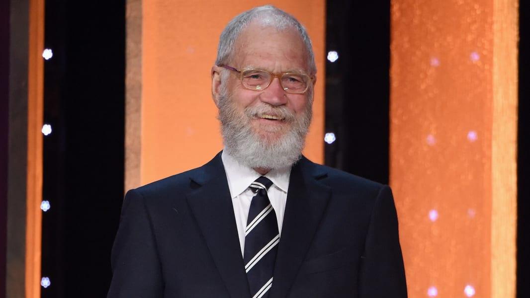 old celebrity dads over 50 David Letterman