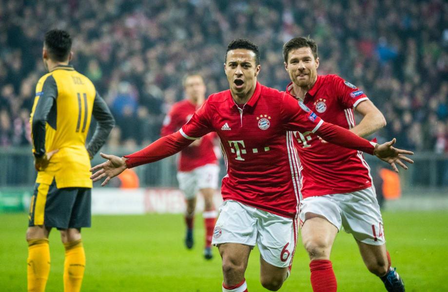 Thiago Bayern Arsenal