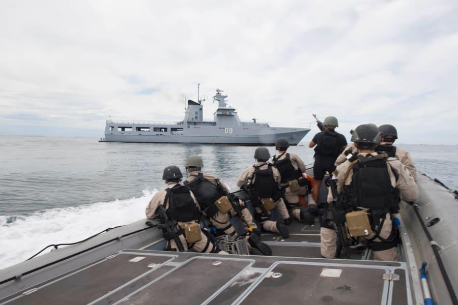 SCS Navy Coronado Brunei