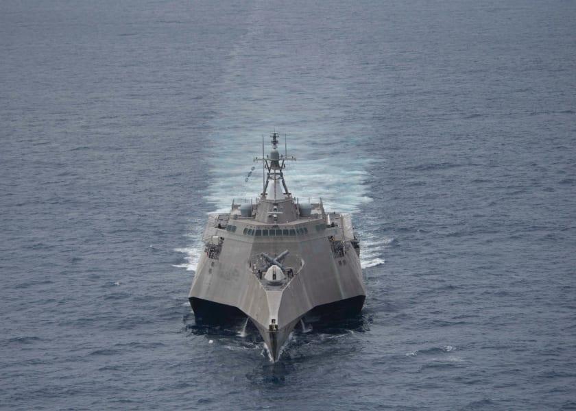 SCS Navy LCS Coronado