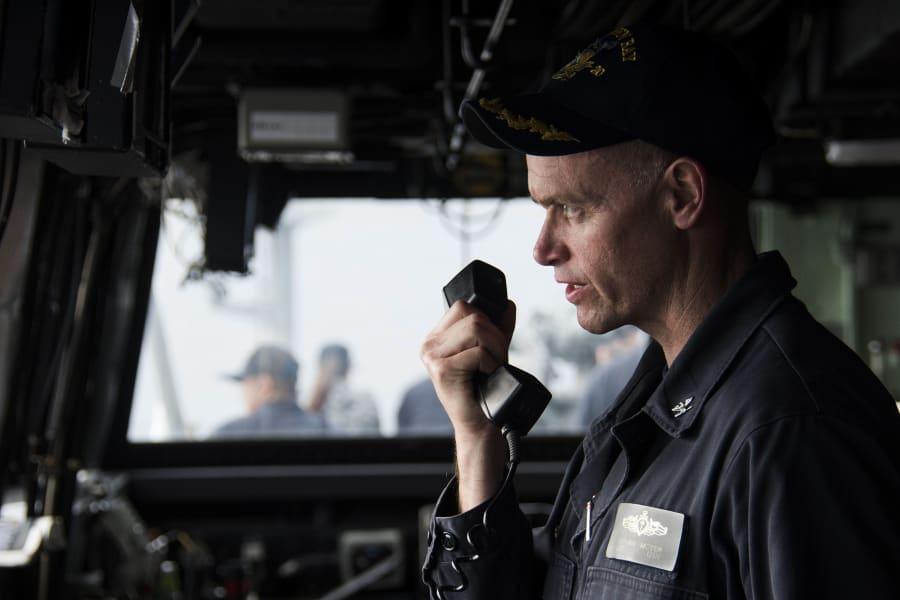 SCS Navy Green Bay commander