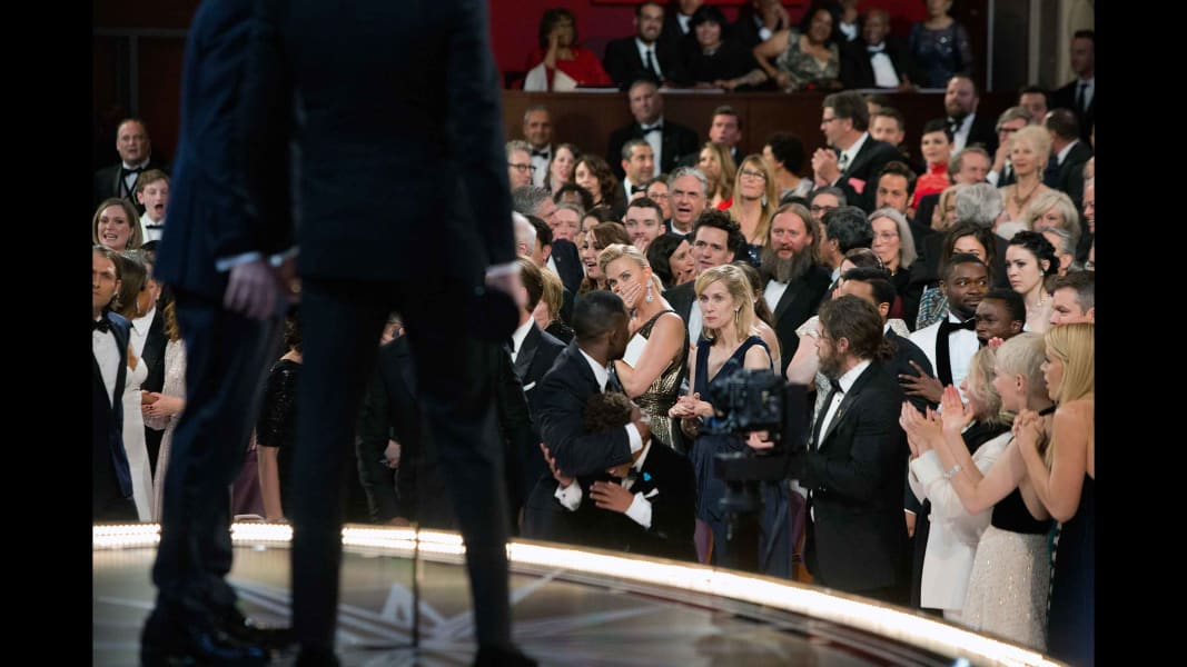 Oscars 2017 best picture audience reaction RESTRICTED