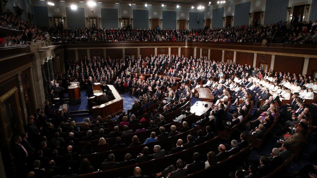 13 Trump joint address Congress