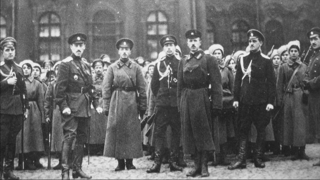 02 Russian revolution 100 years anniversary Putin RESTRICTED