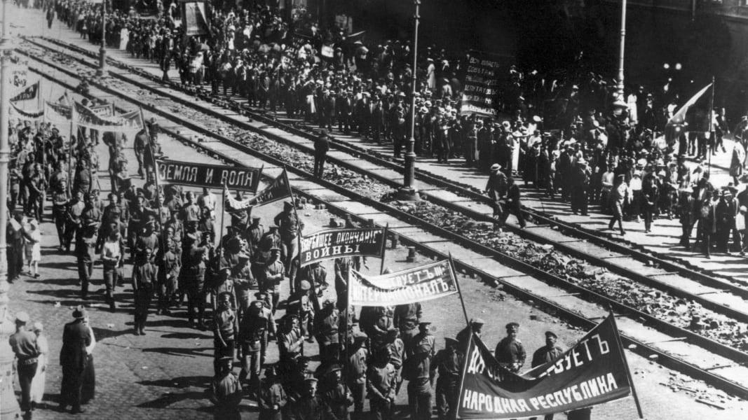 07 Russian revolution 100 years anniversary Putin