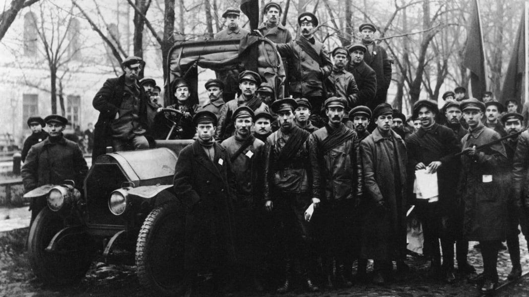 08 Russian revolution 100 years anniversary Putin