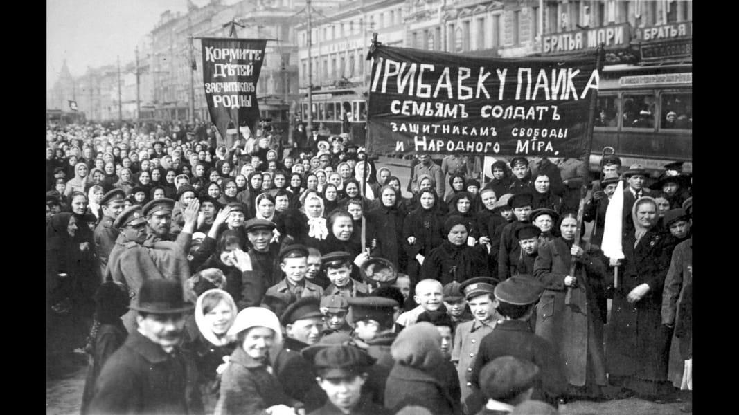 13 Russian revolution 100 years anniversary Putin RESTRICTED