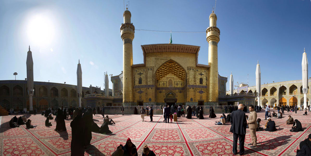 Imam Ali's Mosque in Najaf - RESTRICTED