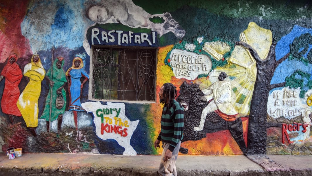 Rastafarian file photo
