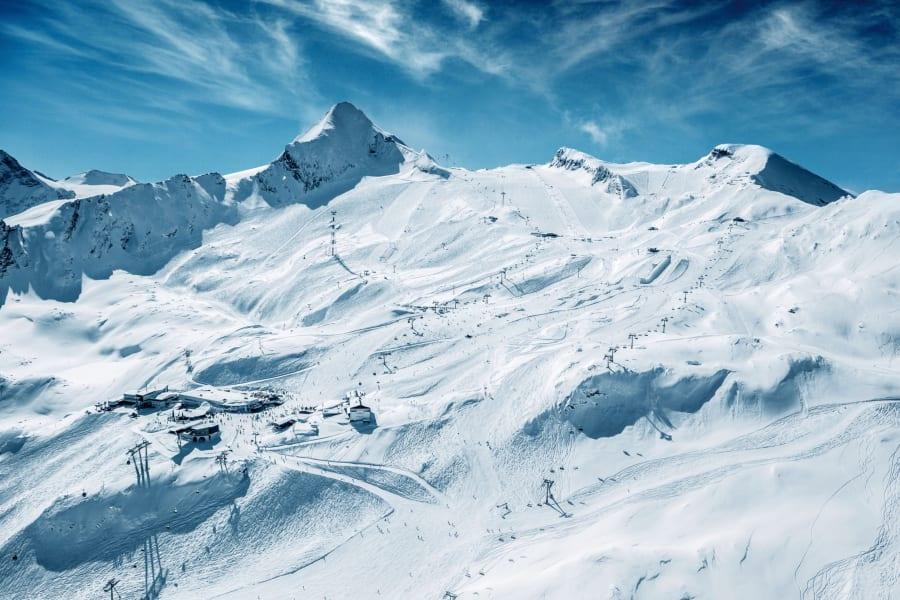 Kaprun summer skiing 1